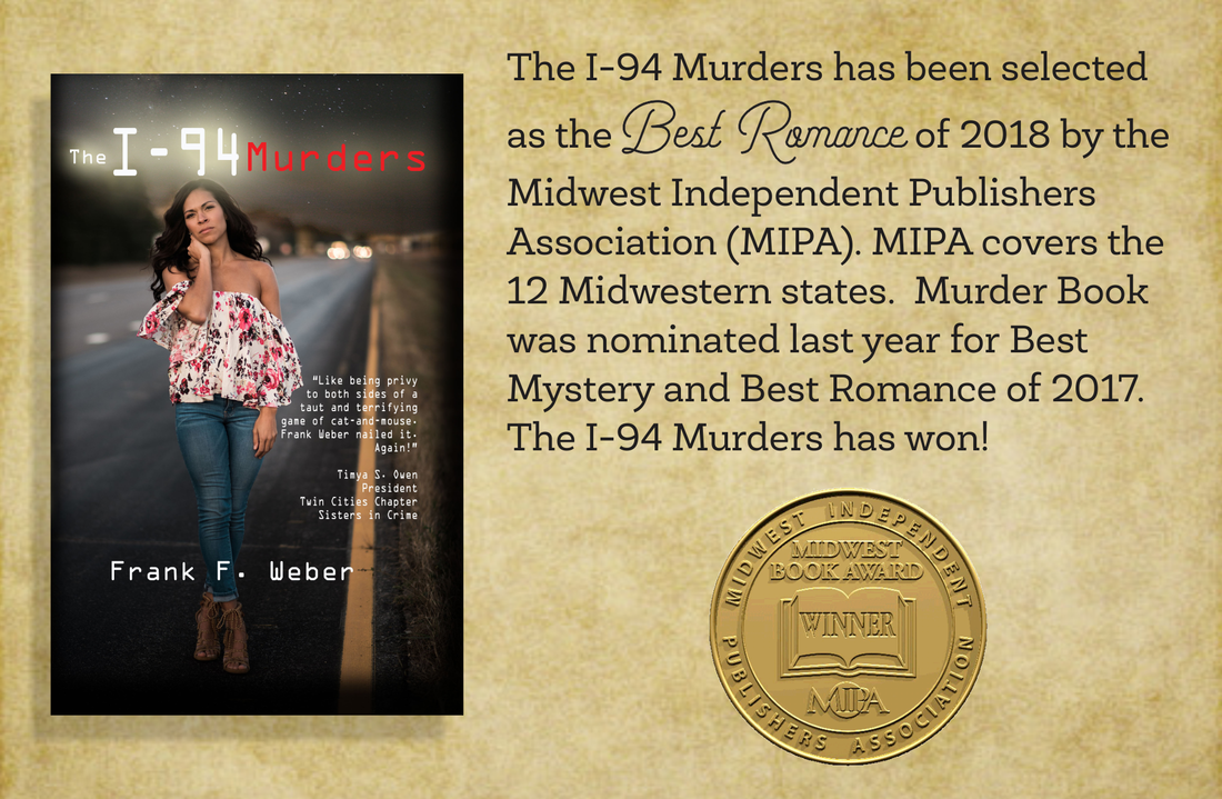 The I-94 Murders selected Best New Romance of 2018  - Frank